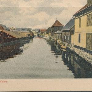 Karlshamn, kanalparti