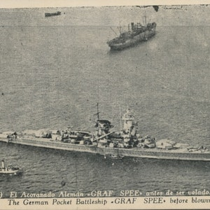 Krigsskeppet Graf Spee
