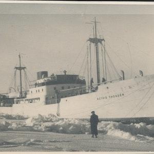 Skeppet Astrid Thorden fastfruset