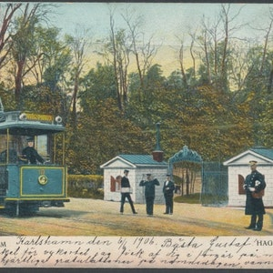 Spårvagnen vid Haga grindar