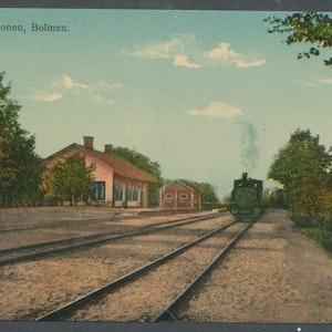 Bolmen - jänrvägsstation