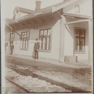Okänd tågstation