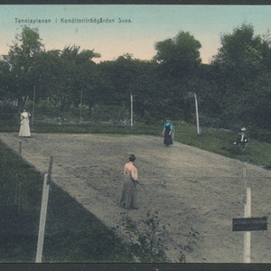 Tennisplanen i Sölvesborg