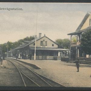 Järnvägsstationen i Ryd II