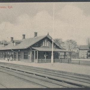 Järnvägsstationen i Ryd