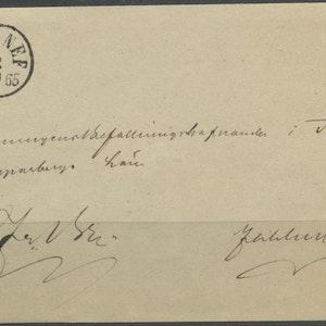Gagnef 1865, sigill