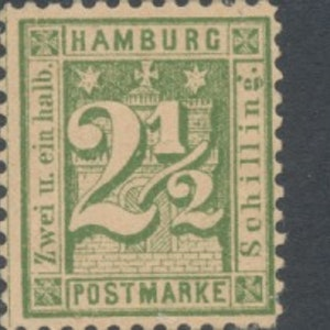 Hamburg Mi 22 x