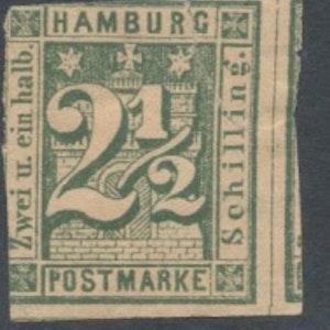 Hamburg Mi 9 x