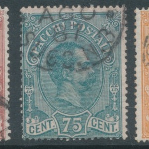 Mi 3-5 packet stamps