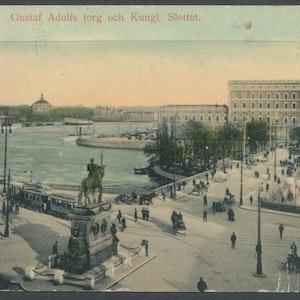 Stockholm Gustaf Adolfs torg