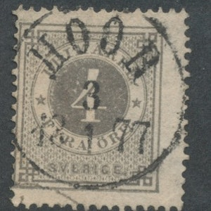 F18 Lyxstämplad Höör 1877