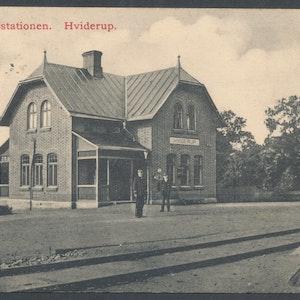 Järnvägsstationen Hviderup