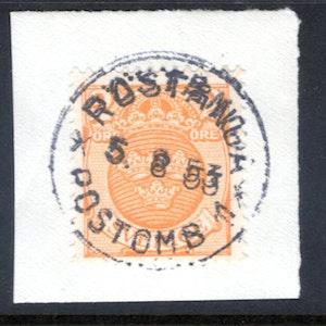 Röstånga POB 1 5/8 1953