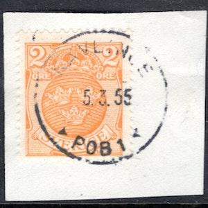 Kävlinge POB 5/3 1955