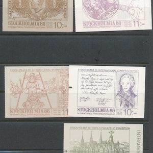Stockholmia 5 häften 1986 xx