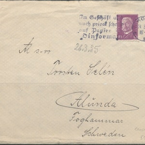 Censurbrev 1935