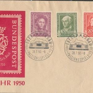 Bach-Jahr FDC 1950
