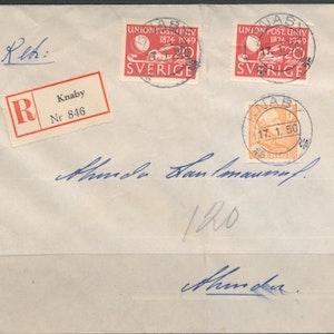 Rek till Knaby 1950