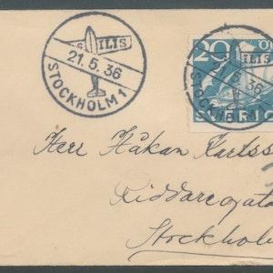 Vackert litet brev 1936