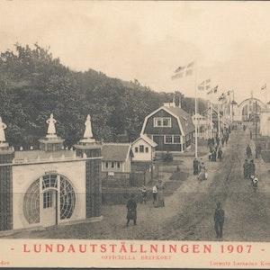 Lundautställningen 1907