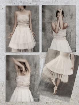 Cards - 4 x Ballerina