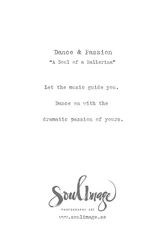 Dance & Passion - Card