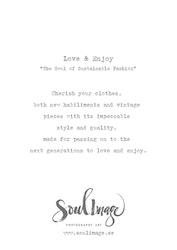 Love & Enjoy - Card