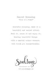 Sacred Dressing - Card