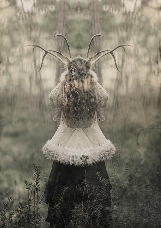 The Horned Goddess - Card