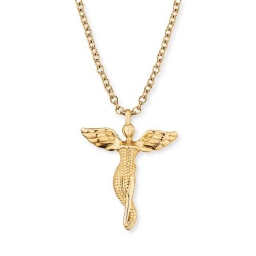 Halsband Ängel liten guld