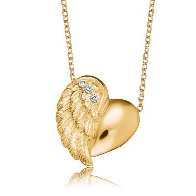 Halsband Heartwing guld