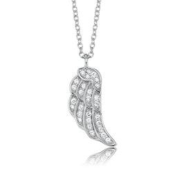 Halsband Vinge silver