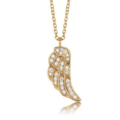 Halsband Vinge guld