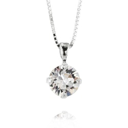 Classic Petit Necklace/ Crystal Rhodium