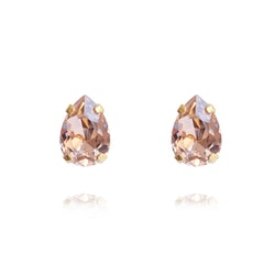 Petite Drop Earrings/ Vintage Rose Gold