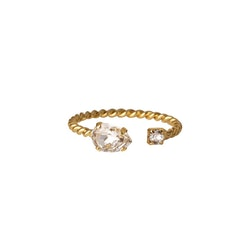 Nani Ring/ Crystal - Gold