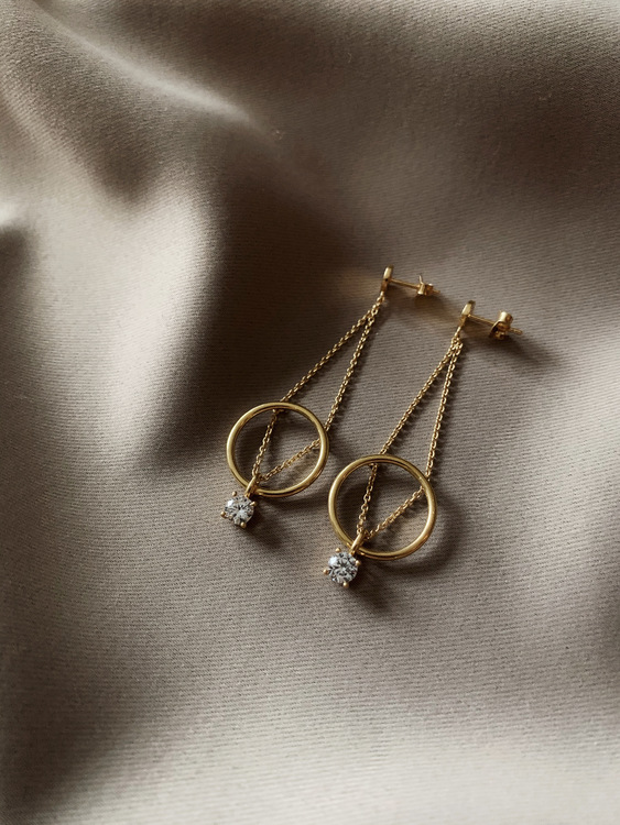 Le Ballon Earrings Gold