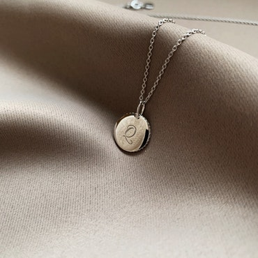 Quaintrelle Signature Necklace Silver