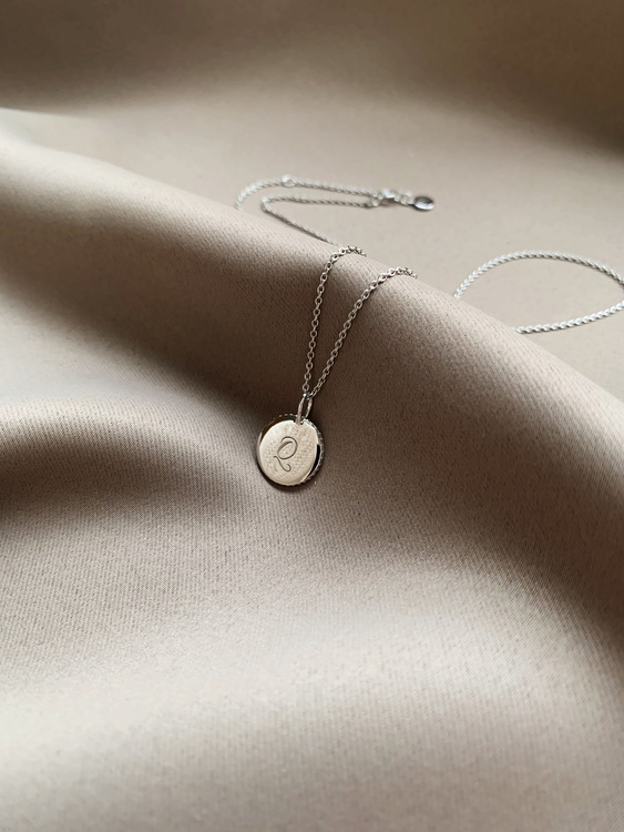 QUAINTRELLE SIGNATURE NECKLACE SILVER
