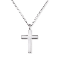 Halsband kors silver