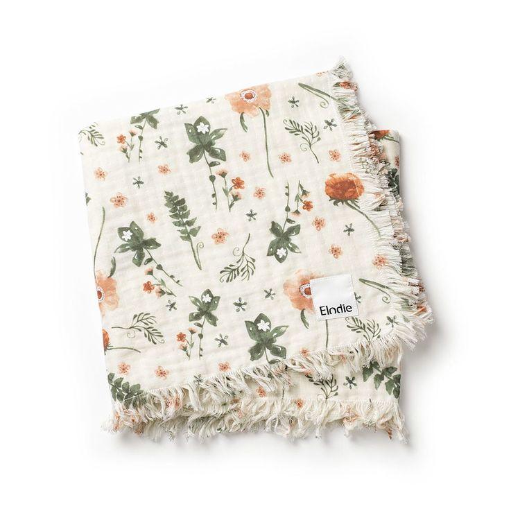 Bomullsfilt - Meadow Flower