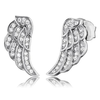 Örhänge Angelwing silver studs