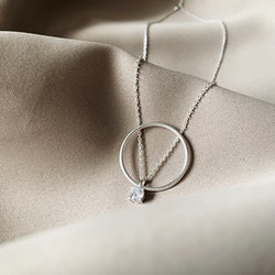 Le Ballon Necklace Silver