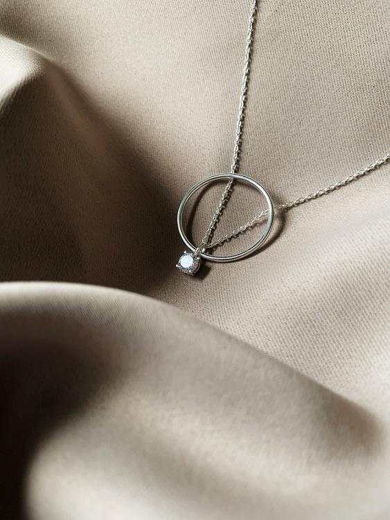 Le Ballon Necklace Silver