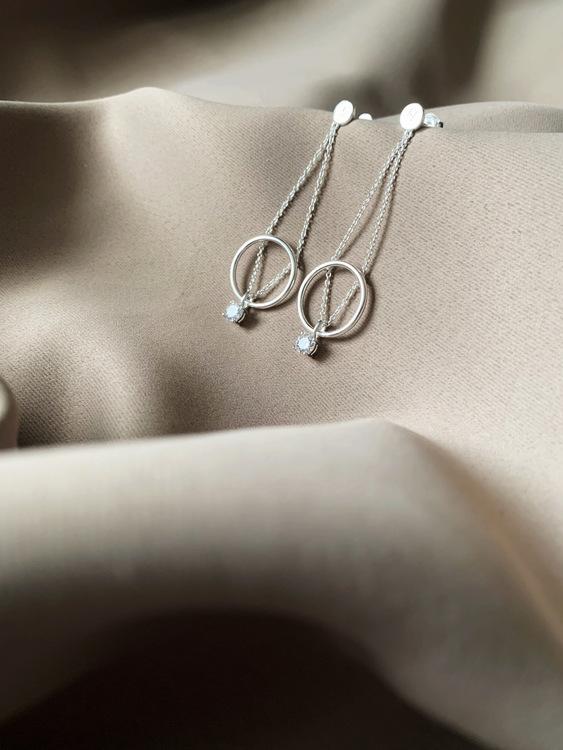 Le Ballon Earrings Silver