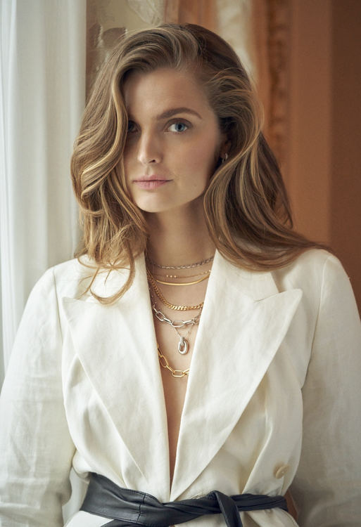 Capri Necklace Silver