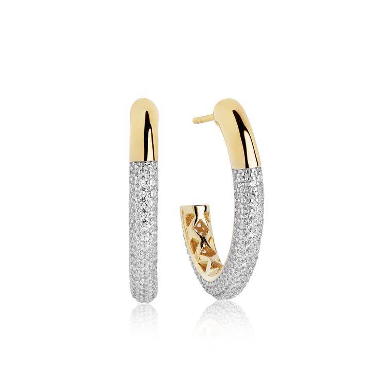 Cannara Grande Earrings Gold
