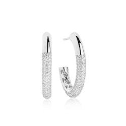 Cannara Grande Earrings Silver