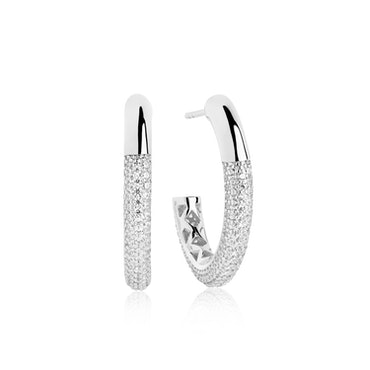Cannara Grande Earrings Silver