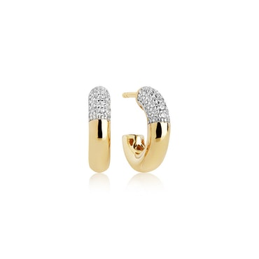 Cannara Piccolo Earrings Gold